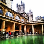 Photo taken at The Roman Baths by Sebastián M. on 9/23/2012