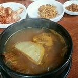 Photo taken at 현대기사식당 by Jeena K. on 10/24/2014