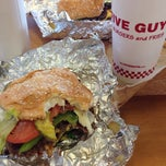 Photo taken at Five Guys by Roger E. on 6/1/2014