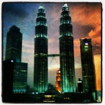 Photo taken at Kuala Lumpur City Centre (KLCC) Park by Dan M. on 10/9/2012