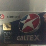 Photo taken at Caltex (คาลเท็กซ์) by Amansanom R. on 6/6/2013