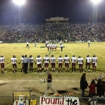 Photo taken at MHS football stadium by Gordon G. on 11/24/2012