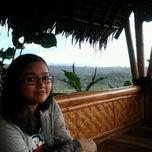 Photo taken at De'Saung Gunung Salak by Kang Tedy on 5/25/2013