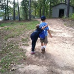 Photo taken at Mountain Bayou Lake Boy Scout Camp by Kathy P. on 10/13/2012