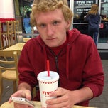 Photo taken at Five Guys by Mark K. on 4/19/2014