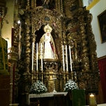 Photo taken at Iglesia de Nuestra Señora de la O by Patxi B. on 10/12/2012