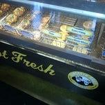 Photo taken at Einstein Bros Bagels by Fred V. on 12/14/2012