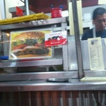 Photo taken at Hamburguesas al Carbón Emilio's by rc t. on 1/28/2013