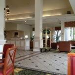 Photo taken at Hilton Garden Inn by Ted I. on 4/13/2013