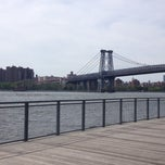 Photo taken at East River Ferry Terminal North Williamsburg by Nick F. on 5/26/2014