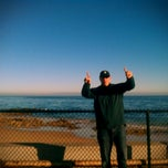 Photo taken at Breakwater Beach by kumi m. on 2/1/2013