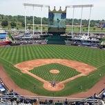 Photo taken at Kauffman Stadium by Evan S. on 7/6/2013