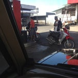 Photo taken at Caltex Gas Station by Abet B. on 10/24/2012