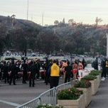 Photo taken at San Diego County Credit Union Poinsettia Bowl by Tighe J. on 12/24/2014