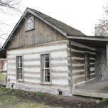 Photo taken at Hewn-Timber Slave Cabins by BET on 1/31/2013