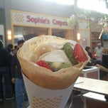 Photo taken at Sophie's Crepes by Victor Y. on 2/17/2013