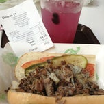 Photo taken at Charlie's Grilled Subs by Alien D. on 8/21/2013
