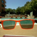 Photo taken at River Place Pool by Lukas Z. on 6/6/2014
