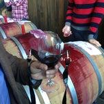 Photo taken at Sunce Winery by emma k. on 3/9/2013