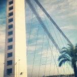 Photo taken at Puente Del Bimilenario by Jose Angel G. on 9/26/2012