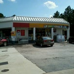 Photo taken at Shell by Donnie D. on 9/27/2012