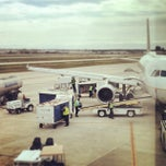 Photo taken at Gate B8 by Bernard V. on 3/16/2014