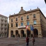 Photo taken at Plaza del Ayuntamiento by Pablo Á. on 4/28/2015