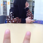 Photo taken at Library Politeknik Kuching Sarawak by Hazmin A. on 7/4/2013