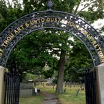 Photo taken at Hancock Cemetery by Keith D. on 9/2/2013