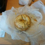 Photo taken at Bruegger's Bagels by Joseph A. on 4/11/2014
