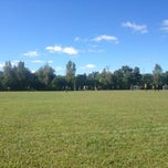 Photo taken at Buddtown Soccer Feilds by Mike D. on 9/14/2013