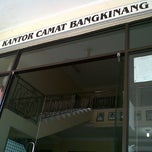 Photo taken at Kantor camat  bangkinang by Jamil I. on 1/2/2013