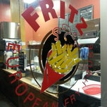 Photo taken at Fritz European Fry House by E B. on 11/3/2013