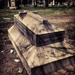 Photo taken at Elmwood Cemetery by Wally N. on 4/21/2013