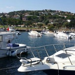 Photo taken at Dragos Marina by Tugba O. on 8/18/2013