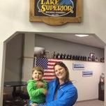 Photo taken at Lake Superior Brewing Co. by Nolan P. on 7/8/2014
