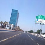 Photo taken at King Abdulaziz Road | طريق الملك عبدالعزيز by AbdulAziz B. on 10/13/2013