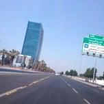 Photo taken at King Abdulaziz Road   طريق الملك عبدالعزيز by AbdulAziz B. on 10/13/2013