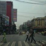 Photo taken at ถ.จักรวรรดิ์ by Sagun K. on 2/14/2013