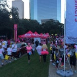 Photo taken at Susan G. Komen Race For The Cure by Priscilla M. on 10/4/2014
