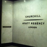 Photo taken at Hyatt Regency London The Churchill by H M. on 1/6/2013