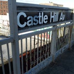 Photo taken at MTA Subway - Castle Hill Ave (6) by Joey on 3/5/2013