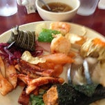 Photo taken at Osaka Seafood Buffet by Ginelle C. on 2/23/2013