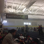 Photo taken at Indoor Track & Tennis Facility (ITT) - Smith College by Jeanne Gigi L. on 11/2/2013