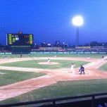 Photo taken at 무등야구장 (Mudeung Baseball Stadium) by hoho on 4/26/2013