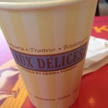 Photo taken at Aux Delices by Justin O. on 8/28/2013