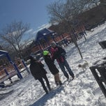 Photo taken at Van Vorhees Playground by jake f. on 2/9/2013