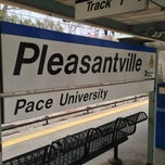 Photo taken at Metro North - Pleasantville Train Station by Kirk L. on 3/31/2013