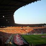 Photo taken at Koning Boudewijnstadion / Stade Roi Baudouin by Jarno O. on 6/7/2013