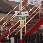 Photo taken at Oakham Railway Station (OKM) by Thomas P. on 4/2/2014